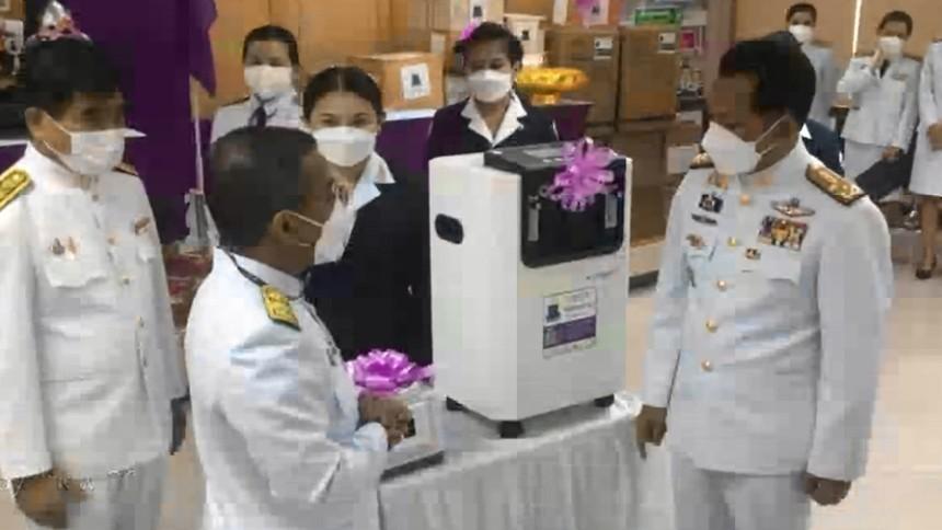 กรมสมเด็จพระเทพฯ พระราชทานอุปกรณ์การแพทย์พระราชทาน แก่รพ.ใน จ.พังงา